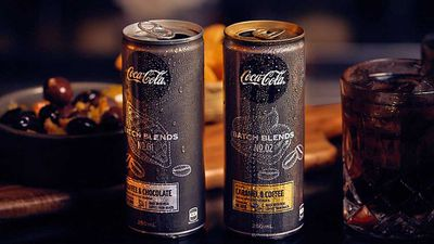 Coca-Cola launch mysterious 'adult' coffee range