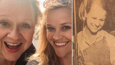 Betty and Reese Witherspoon