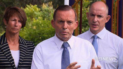 "Prime Minister Tony Abbott's comments about the foreign aid provided by Australia in 2004 have been labelled ""threats"" by Indonesia. (9NEWS)"