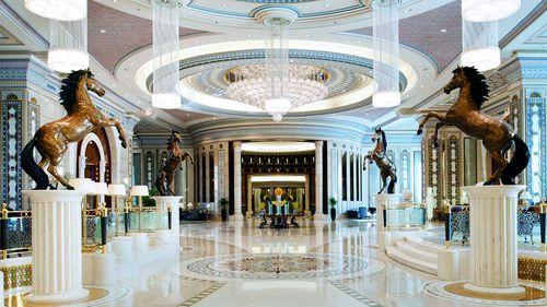 A lobby in the Ritz-Carlton in Riyadh. (Ritz-Carlton)