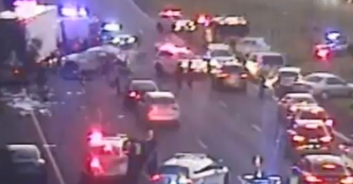 Police officers killed in horror Melbourne freeway crash – 9News