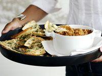 Baked artichoke dip