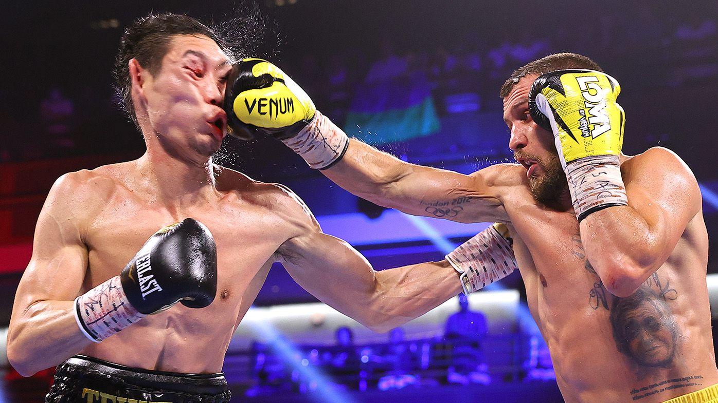 Ukrainian boxing beast Vasiliy Lomachenko defeats Japanese rival in brutal fashion in comeback fight