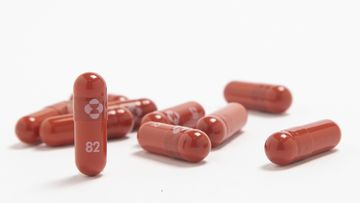 Merck & Co. shows their new antiviral medication