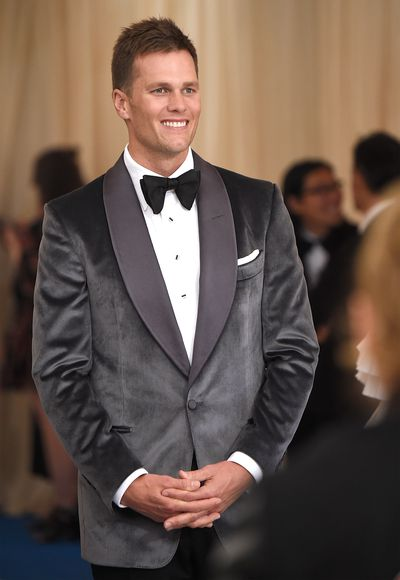 21. Tom Brady<br> No-one can pull off a dark velour suit quite like this father-of-three and Mr Gisele Bundchen.<br> <br>