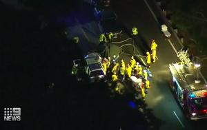 Two dead in car crash at Menai in south Sydney