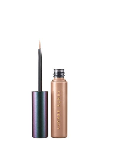 "<a href=""https://www.sephora.com.au/brands/fenty-beauty?gclid=EAIaIQobChMIwbqTo8Dl1gIVAyNoCh0R1gZNEAAYASABEgJa9fD_BwE&amp;dxid=47cd487d-50da-1507619498&amp;dxgaid=XY-c1b9de4036c631a01"" target=""_blank"">Eclipse 2-In-1 Glitter Release Eyeliner in Later, Crater, $32.</a>"