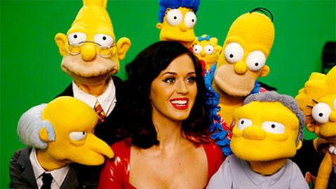 Katy Perry's boobs to appear on The Simpsons