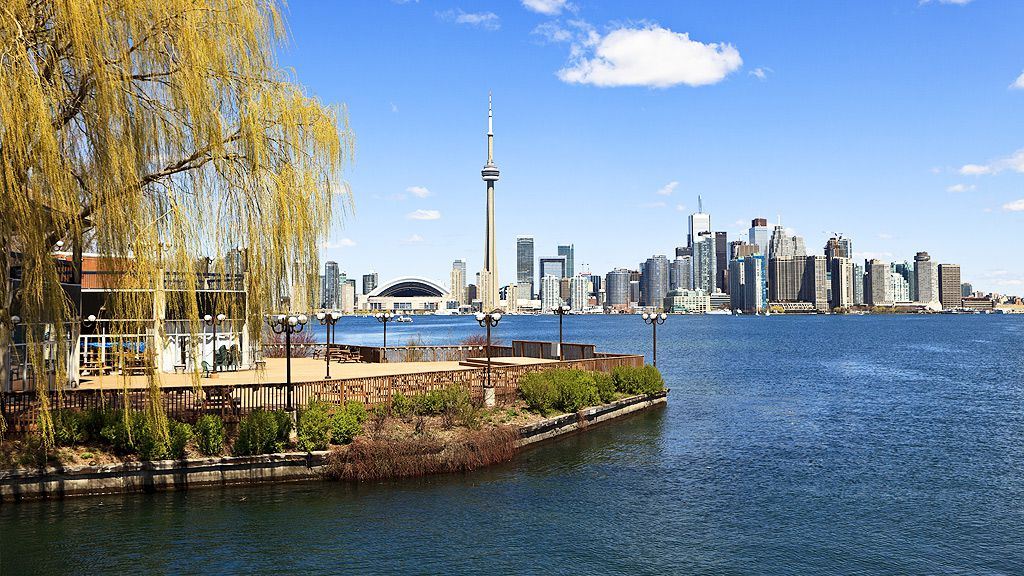View of Toronto from Centre Island (Getty)