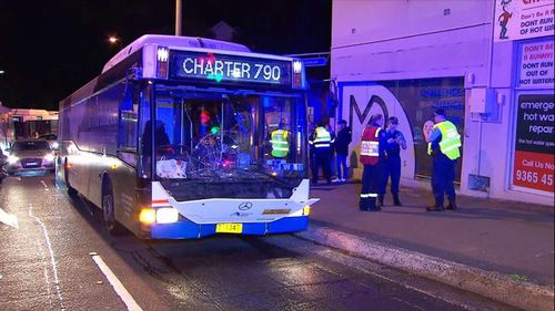 Bondi bus hit pedestrian woman dies in hospital Sydney news NSW
