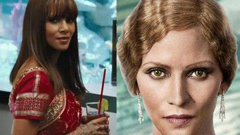 Epic transformation: Halle Berry plays a white woman in new film