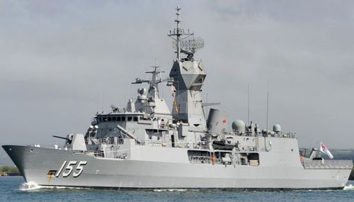 The Australian frigate HMAS Ballarat has joined the search.
