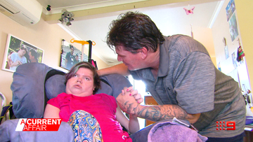Father's battle to get his disabled daughter the home she needs