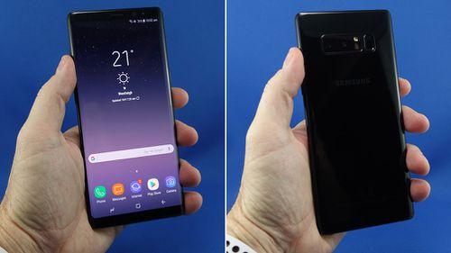 Samsung's Note 8.