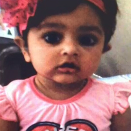 Sanaya was 15-months-old when she was murdered.