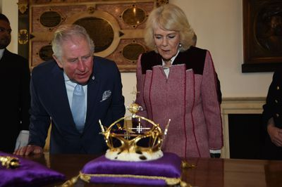 The Prince of Wales and Duchess of Cornwall visit the Tower of London, February 2020