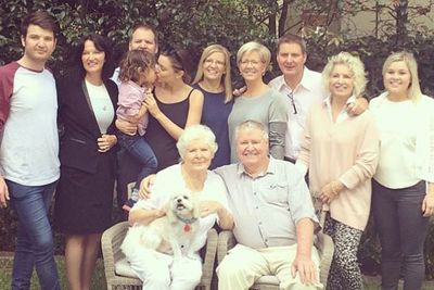 Such a special day with my family. Happy Mother's Day to all xxx