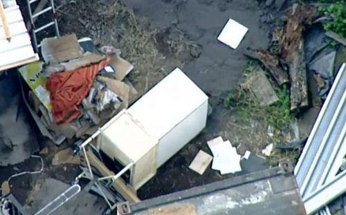 Mr Christianos' body was found in a wheelie bin.