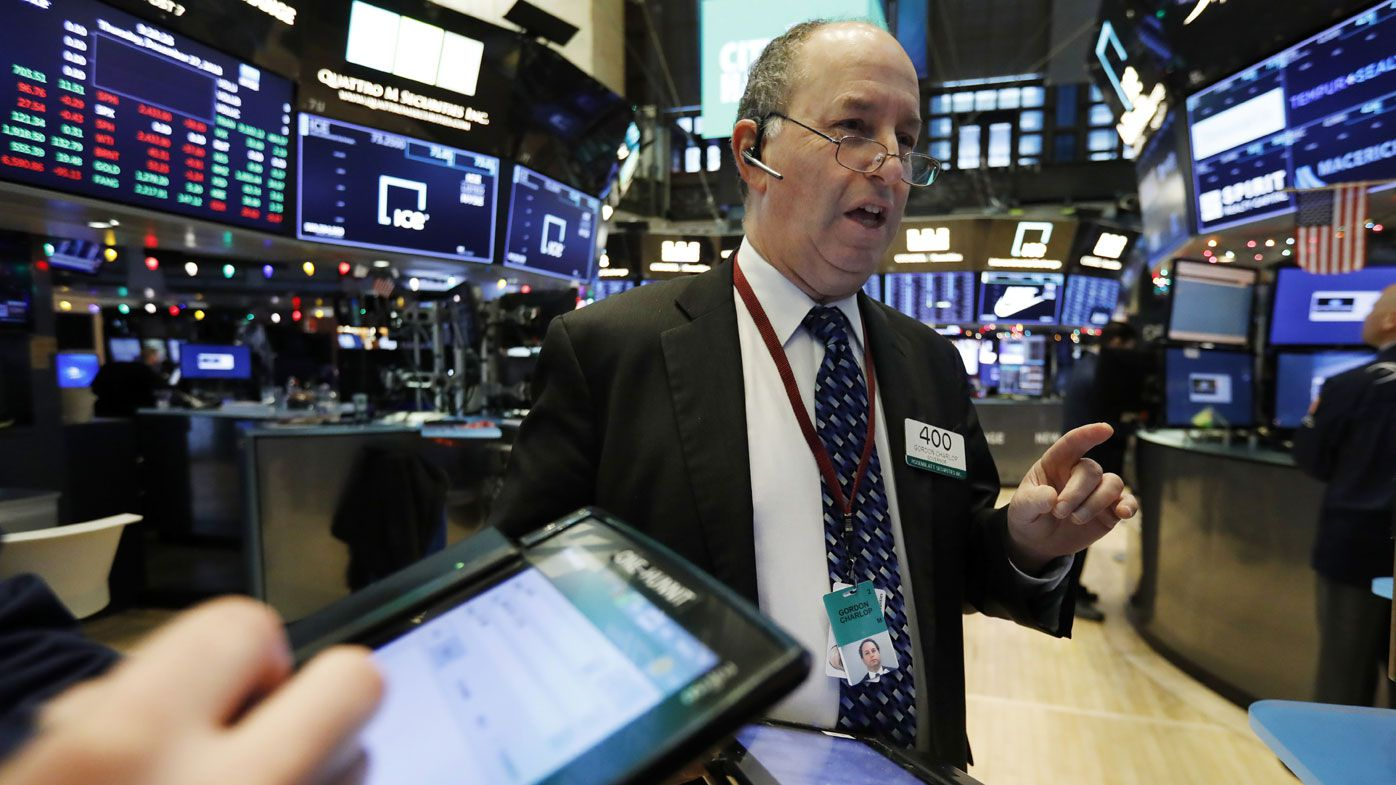 A Wall Street trader.
