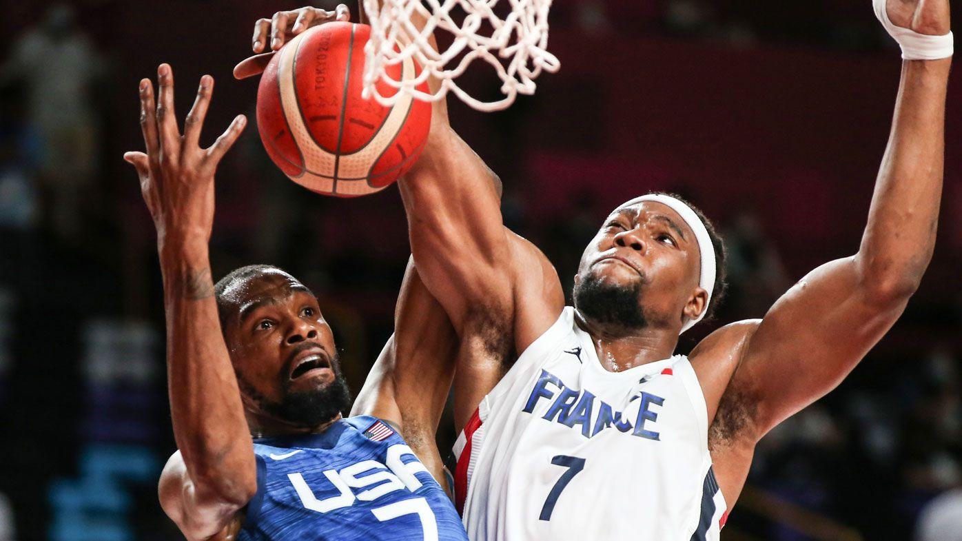 France threaten upset over USA.
