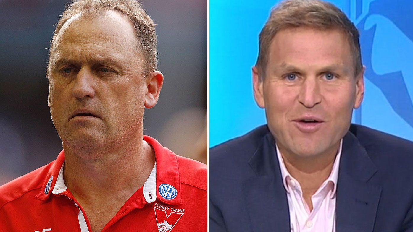'Take a deep breath': Swans coach John Longmire hits back at media over Isaac Heeney criticism