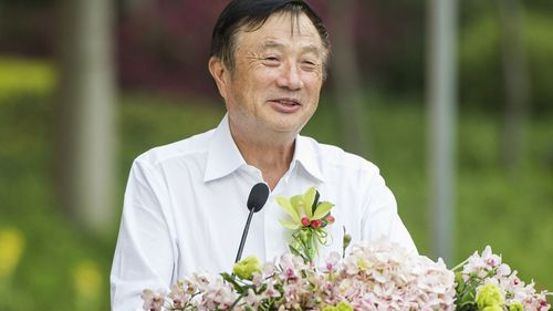 Ren Zhengfei, President and CEO of Huawei Technologies, and father of Chief Financial Officer Sabrina Meng Wanzhou, speaks at a public event in Shenzhen city.
