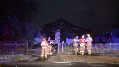 House fire destroys property in Dandenong.