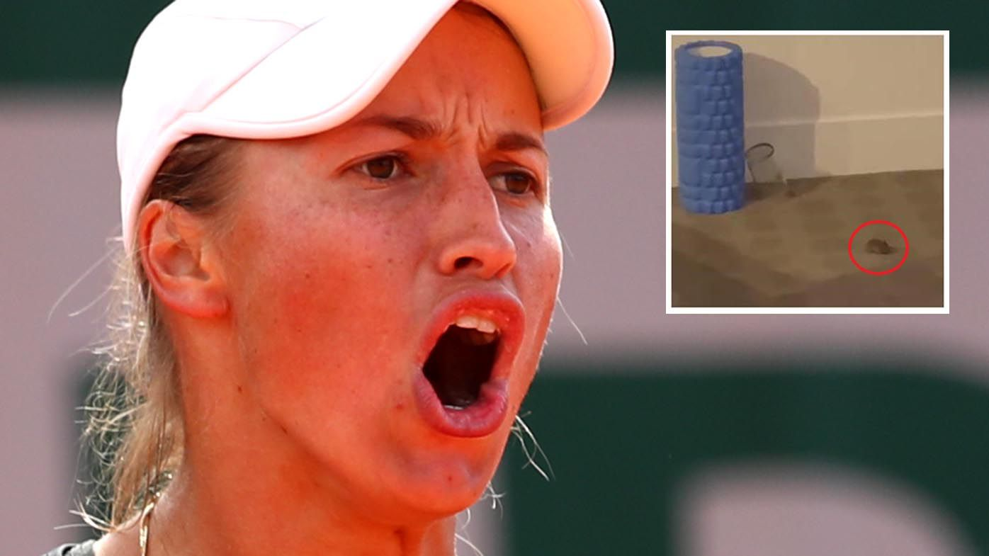 Suspicion arises over Kazakhstan tennis star Yulia Putintseva's complaints of hotel mice in Australian Open quarantine