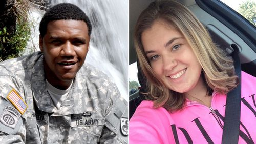 Charleston Hartfield and Bailey Schweitzer are two of the 59 people confirmed dead after the shooting. (AAP)