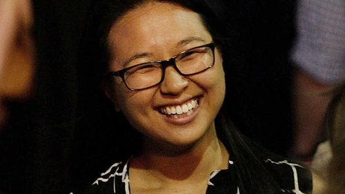 Sydney siege survivor Fiona Ma during a memorial service in December 2015. (AAP)