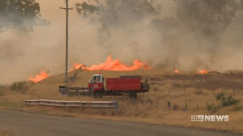 Fire services are working to contain the blazes with residents forced to evacuate from the dangerous conditions.