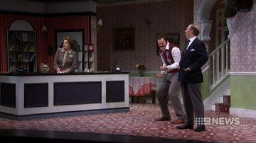 VIDEO: John Cleese in town to spruik Fawlty Towers play