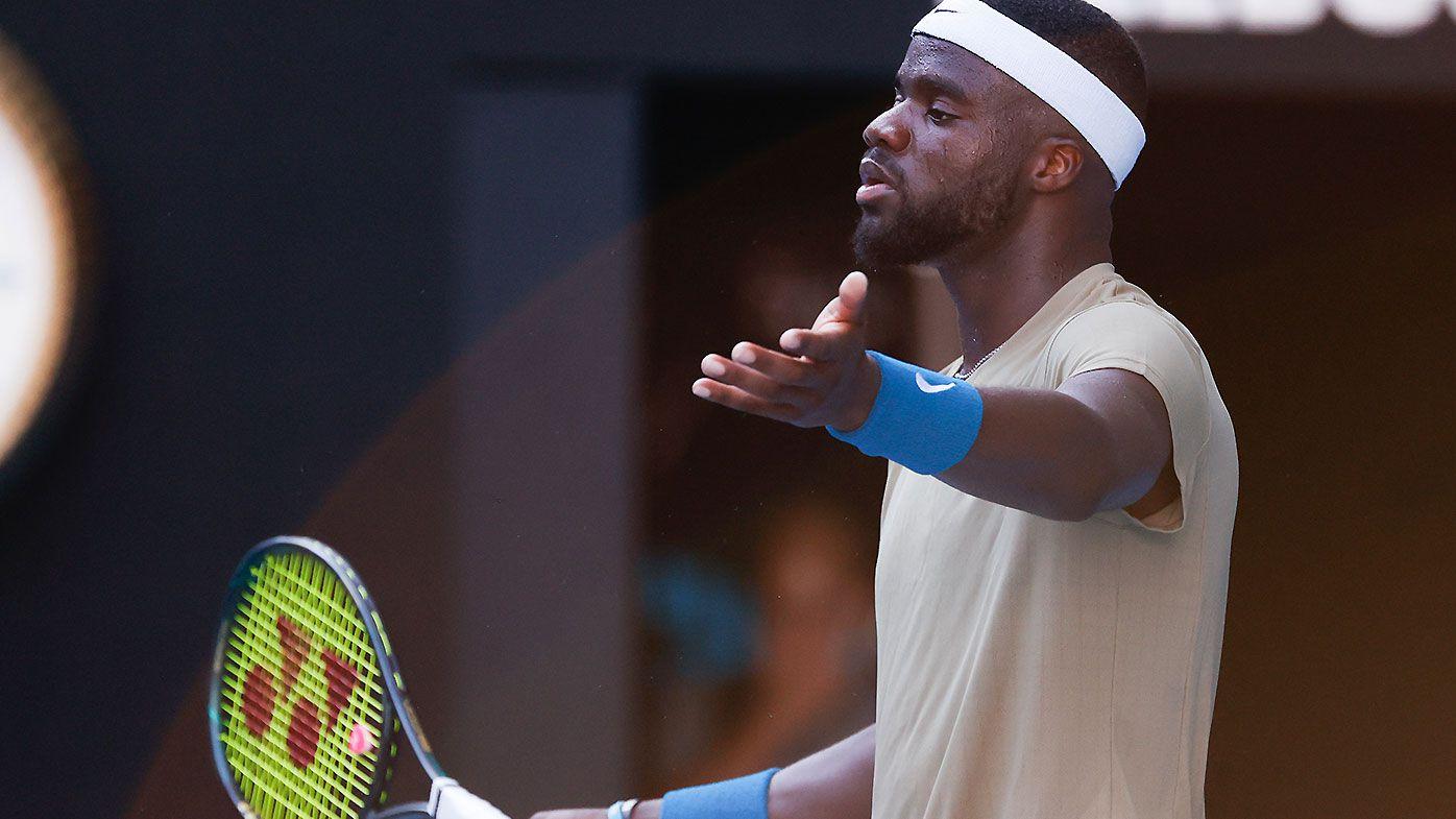 Frances Tiafoe left to rue 'lack of situational awareness' in thrilling Novak Djokovic clash