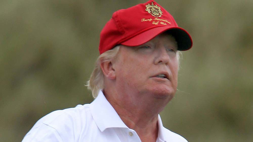 Trump golf course green light for sea wall