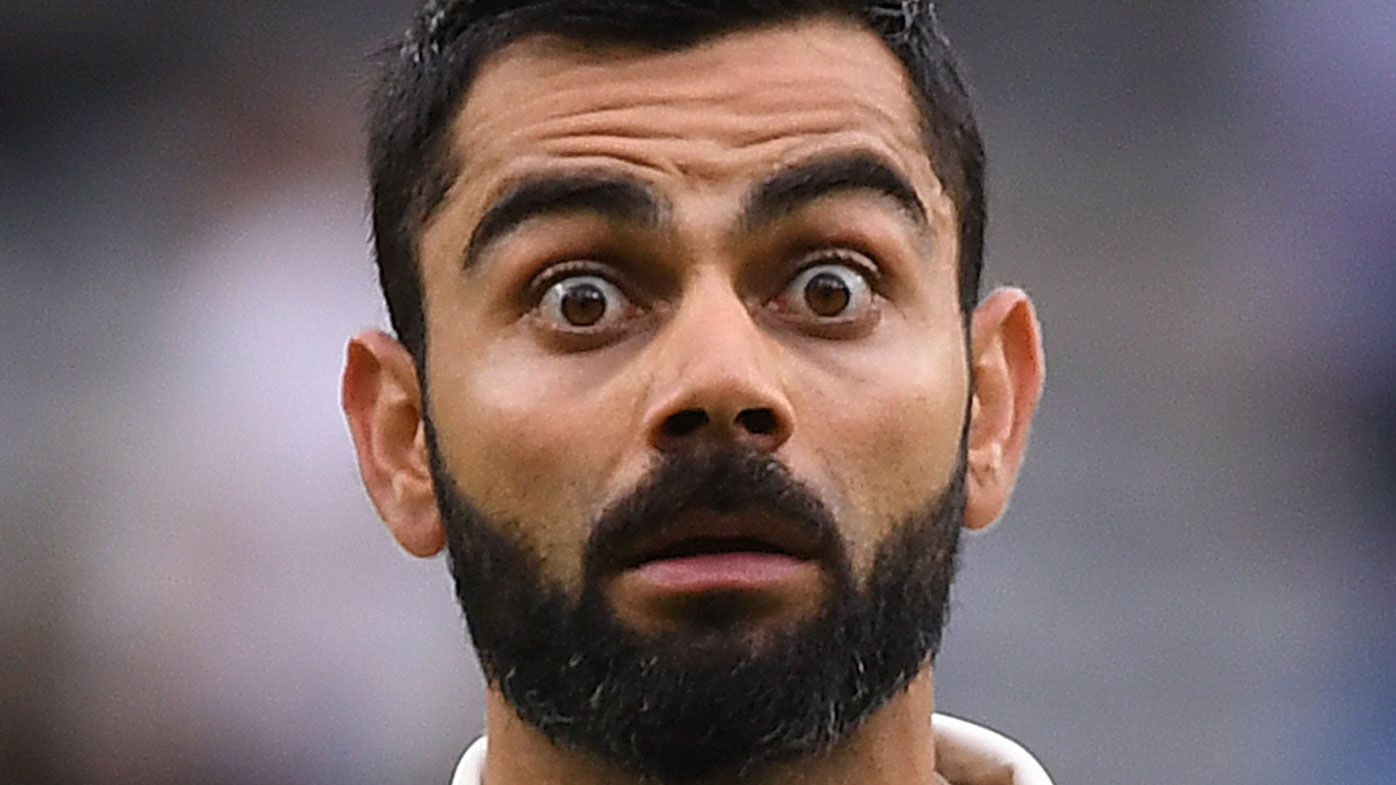 Virat Kohli the recipient of an Aussie cricket joke 34 years in the making