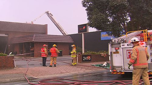 Adelaide father-of-three wakes on Father's Day to find his gym gutted by fire