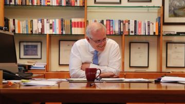 Scott Morrison reveals call with President-elect Joe Biden