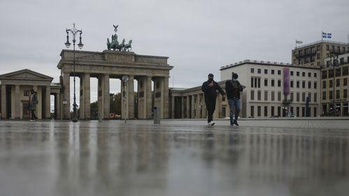 Lockdown of the coronavirus in Europe