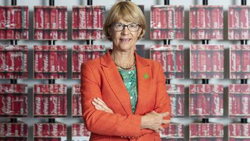 Managing director of Coca-Cola Amatil, Alison Watkins, for half year results. Tuesday 11th February 2020