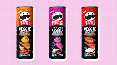 Pringles launch colourful new 'veggie' range