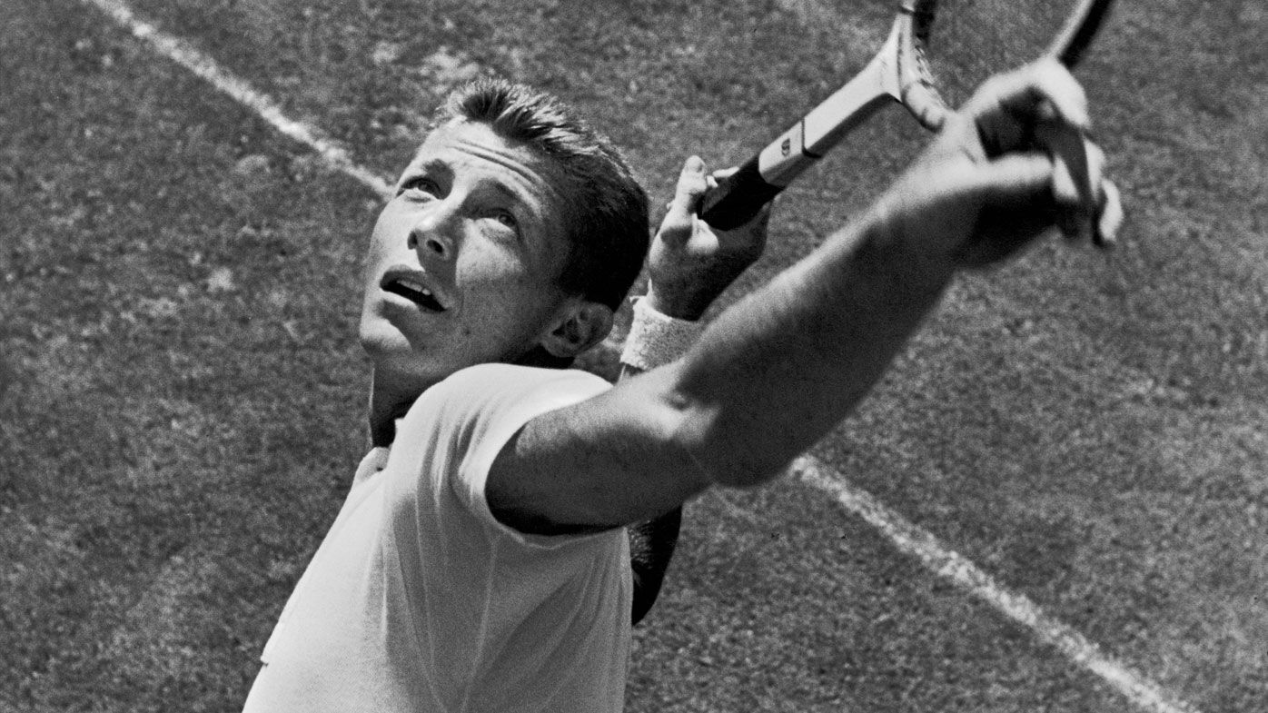 Tony Trabert, 5-time major singles champion, dies at 90. (Getty)