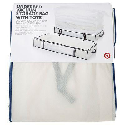 "<a href=""https://www.target.com.au/p/underbed-vacuum-storage-bag-with-tote/58805688"" target=""_blank"">Target Under Bed Storage Bag, $15.</a>"