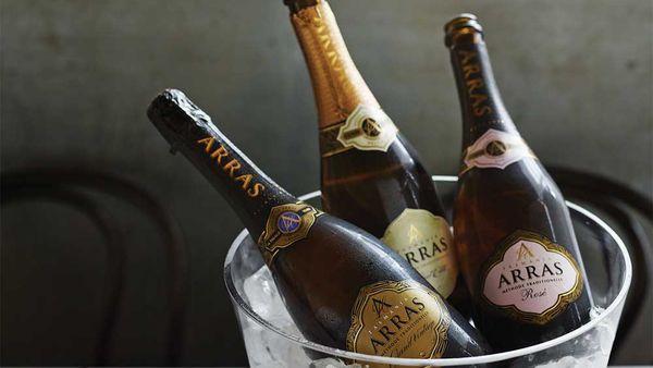 House of Aras sparkling wines. Image: houseofarras.com.au
