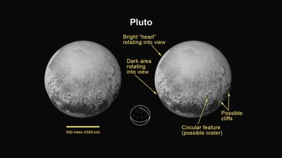 The new pictures are expected to be the most detailed ever of Pluto. (NASA)