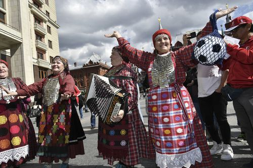 Almost 1.5 million people are expected to visit Russia for this year's World Cup. Picture: AAP.