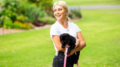 Celebrity Apprentice Australia 2021 Martha puppies