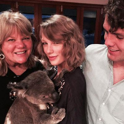 Taylor Swift added another member to her BFF squad: Willy the koala.