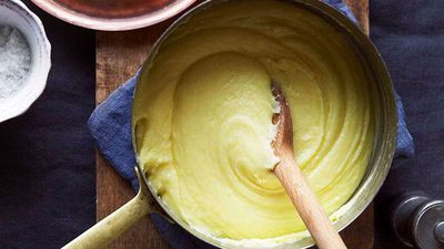 "Recipe:<a href=""http://kitchen.nine.com.au/2016/05/16/16/36/aligot"" target=""_top"" draggable=""false"">Aligot (cheesy mashed potatoes)</a>"