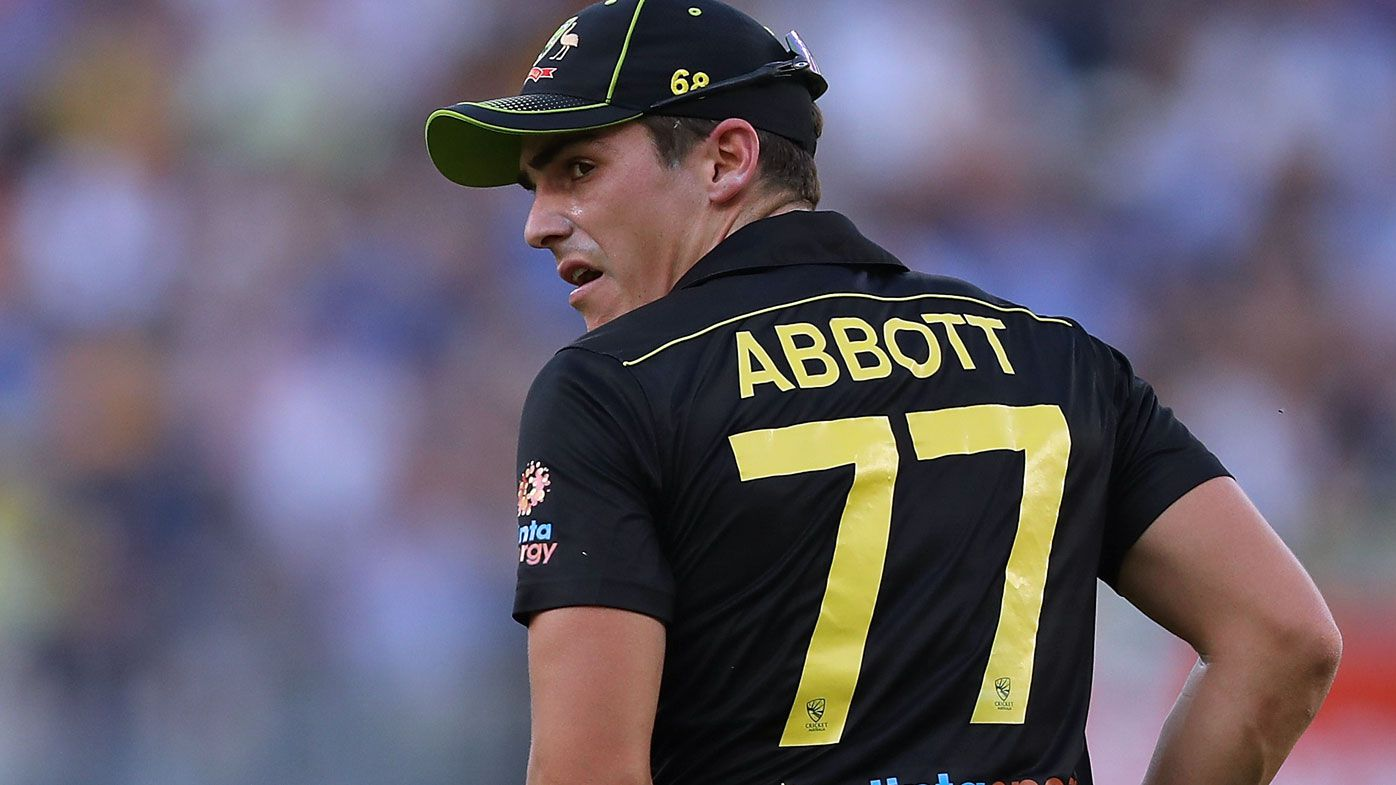 Sean Abbott took 2-14 in his international T20 return