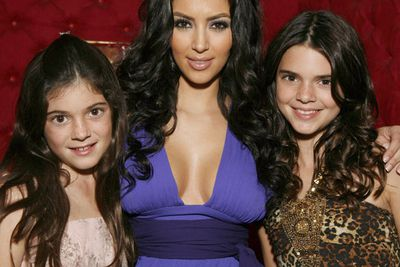 Growing up around glamazon sister Kim Kardashian is sure to rub off.